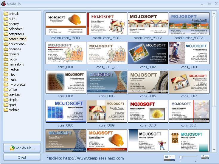 Famoso Come Creare Biglietti da Visita Professionali - MobileTek Blog OD55
