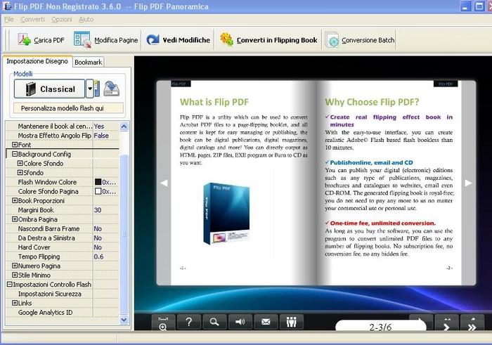 Sfogliare pdf online convertire pdf in flash sfogliabile for Programma per creare stanze 3d online