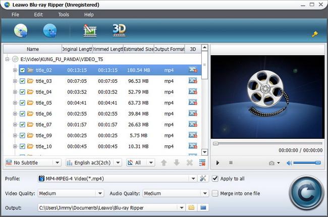 Blu-ray Ripper Import
