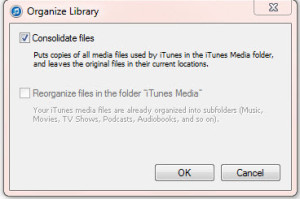itunes-consolidate-files