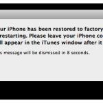 Ripristino iPhone tramite Backup iCloud