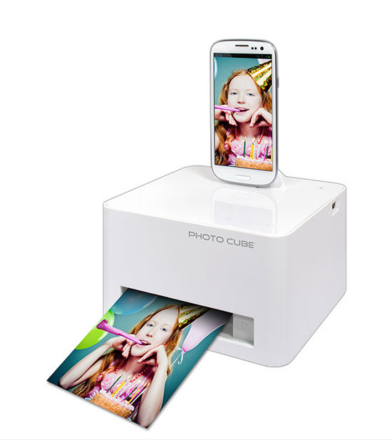 has full smartphone photo cube printer with wifi two will need