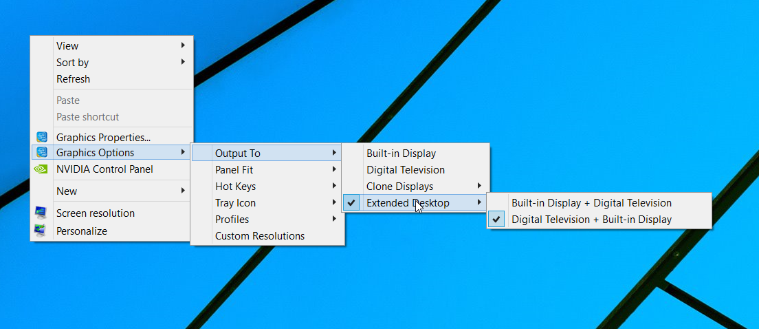 how to change aspect ratio windows 10