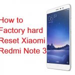 Come fare Hard Reset Xiaomi Redmi Note 3