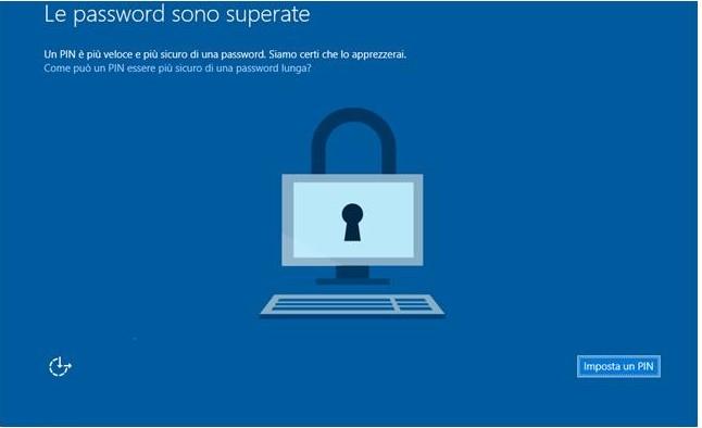 Come rimuovere password Windows 10