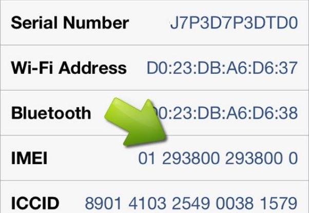 Come controllare l'IMEI iPhone
