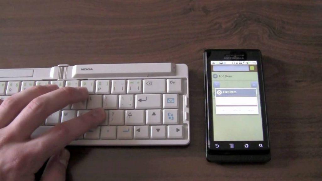 Come aggiungere e usare tastiera bluetooth con smartphone Android