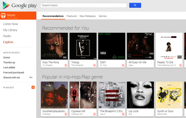 Come spostare musiche da Google Play Music a iTunes