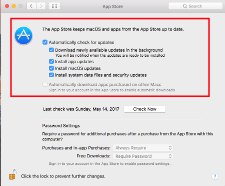 Come Disattivare Aggiornamenti Programmi Apple (iTunes, QuickTime, iCloud)