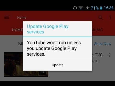 Android: Impossibile aprire applicazione per errore aggiornamento Google Play