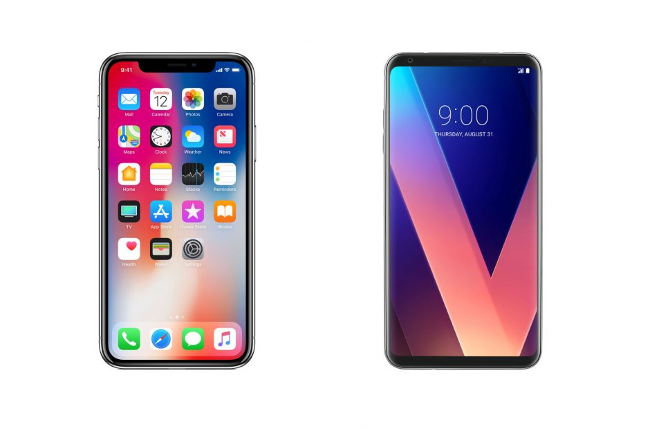 Confronto iPhone X e LG V30: quale scegliere?
