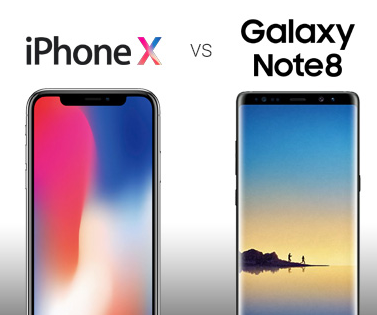 Confronto tra iPhone X e Galaxy Note 8: quale acquistare?