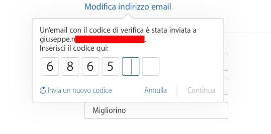 Come cambiare l'indirizzo e-mail di un account Apple ID