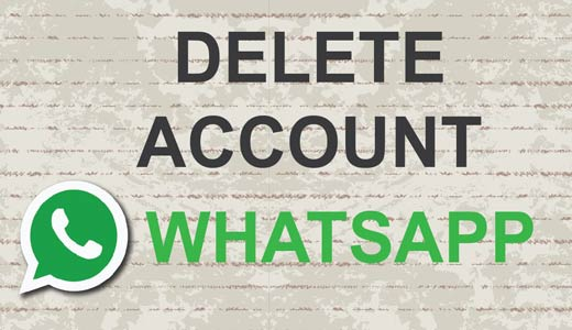 Come eliminare definitivamente account WhatsApp su Android