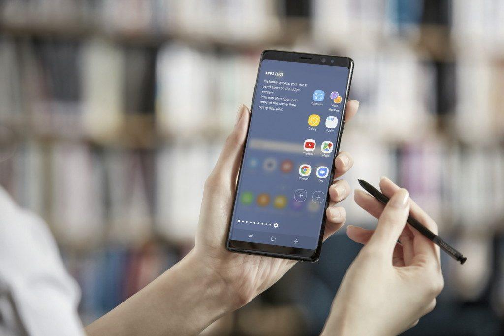 Come cancellare le applicazioni su Galaxy Note 8