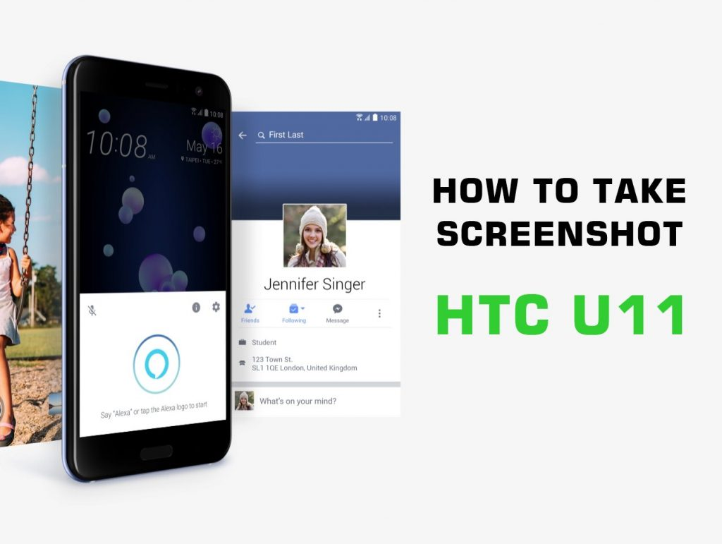 Come fare Screenshot HTC U11