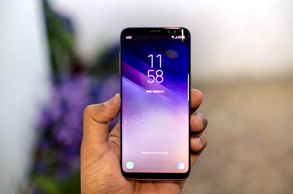 Come fare screenshot su Samsung Galaxy A8 2018