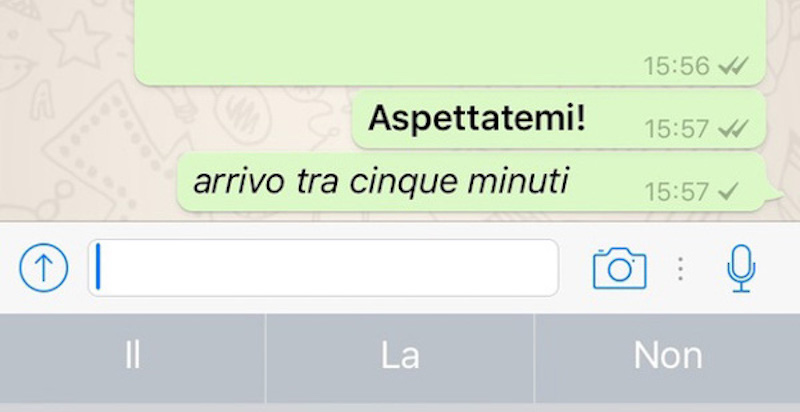 Come scrivere grassetto su Whatsapp