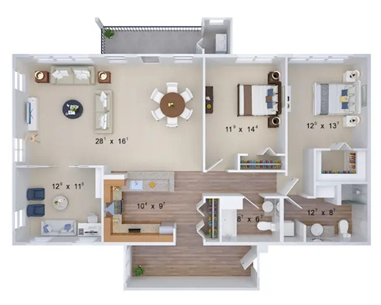 What are floor plans