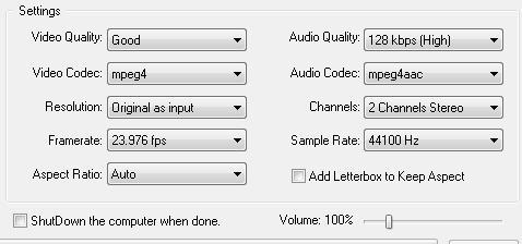 conversione mp4 3gp ipod psp