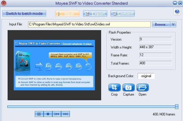 SWF in Video