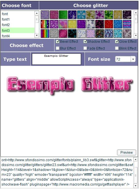 Scritte Glitter Gratis: Crea Scritte E Foto Glitterate