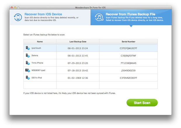 backup whatsapp iphone su mac