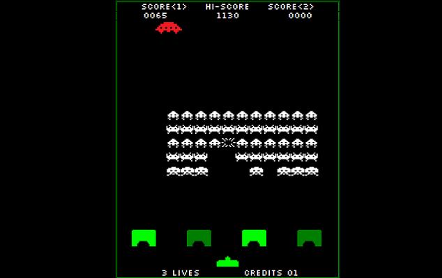 Space invaders gioco anni 80