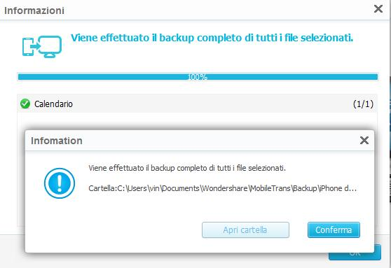 come fare backup iphone sul pc