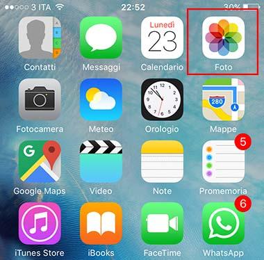 Come ritagliare una foto sul vostro iPhone