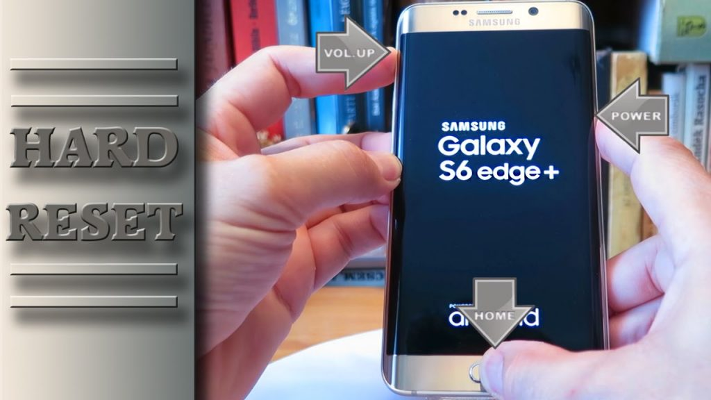 Come effettuare hard reset Samsung Galaxy S6 Edge