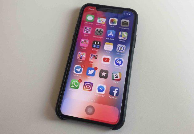 Come avere un tasto home virtuale su iPhone X