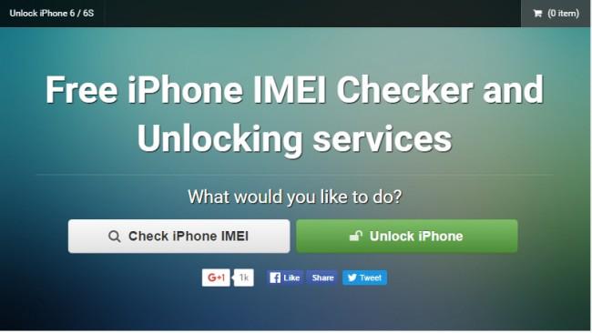 Verifica IMEI iPhone