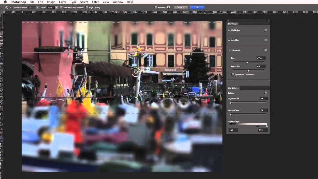 Come sfocare alcuni dettagli da foto con Photoshop