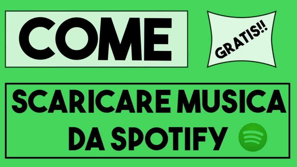 Scaricare musica da Spotify su smartphone