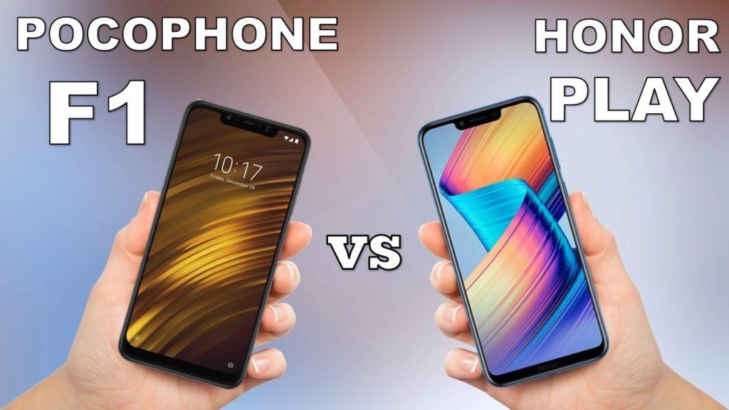 Xiaomi Pocophone F1 vs Honor Play: caratteristiche a confronto