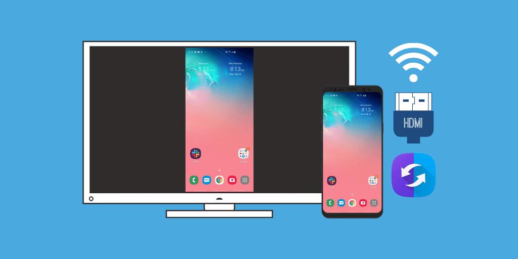 Come effettuare il mirroring dello schermo del Samsung S10 / S9 / S8