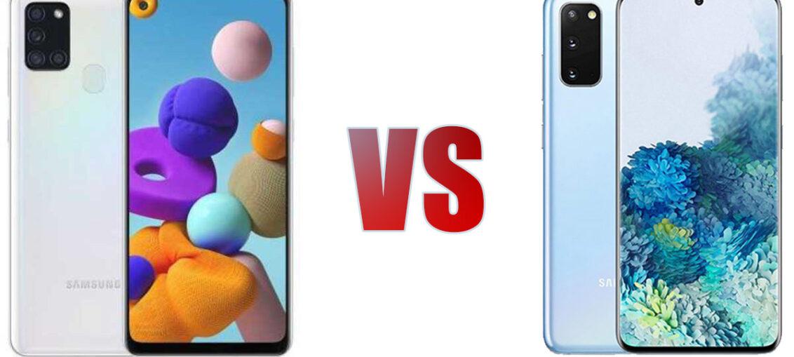 Samsung Galaxy S21 VS Galaxy A21s Specs Comparison - Specs Tech
