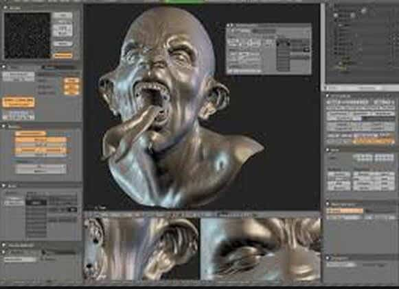 Editor video MTS - Blender